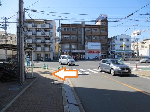 阪急塚口から当院への経路途中写真