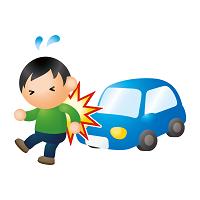 交通事故衝突イラスト